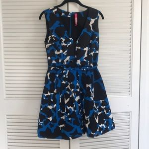 Fun abstract cocktail dress